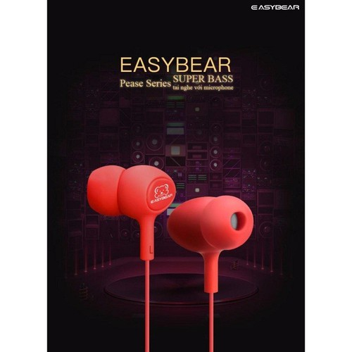 Tai nghe nhét tai Easy Bear Pease Series Super Bass Đen - 6624474 , 13295409 , 15_13295409 , 150000 , Tai-nghe-nhet-tai-Easy-Bear-Pease-Series-Super-Bass-Den-15_13295409 , sendo.vn , Tai nghe nhét tai Easy Bear Pease Series Super Bass Đen
