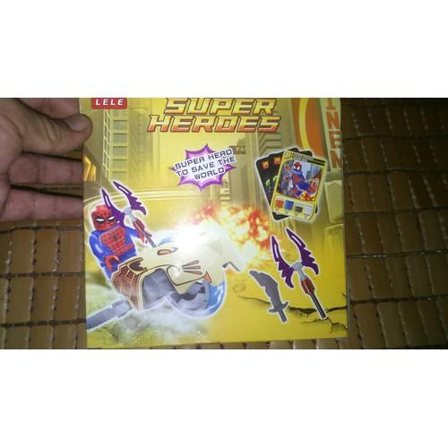 Lắp ráp Nonlego Super Heroes 78003 mẫu 2