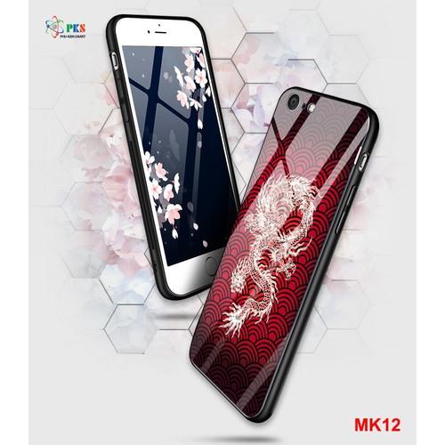 Ốp lưng Iphone 6 Plus,6s Plus in 3D hình rồng mặt kính cường lực