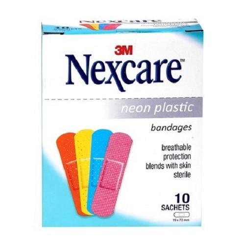 Combo 3 hộp băng cá nhân Neon TẶNG 4 gói băng cá nhân Neon