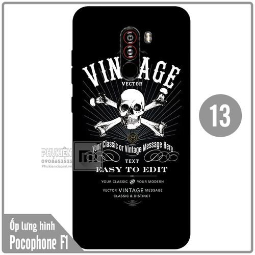 Ốp lưng hình TPU dẻo cho Xiaomi Poco Phone F1 - Số 13 - 6632512 , 13303421 , 15_13303421 , 50000 , Op-lung-hinh-TPU-deo-cho-Xiaomi-Poco-Phone-F1-So-13-15_13303421 , sendo.vn , Ốp lưng hình TPU dẻo cho Xiaomi Poco Phone F1 - Số 13