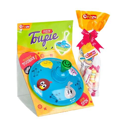 Kẹo kèm Con Quay đồ chơi sáng tạo cho bé nhập khẩu hoàn toàn từ Pháp