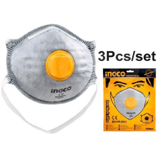 Bộ 3 khẩu trang chống bụi INGCO HDM06