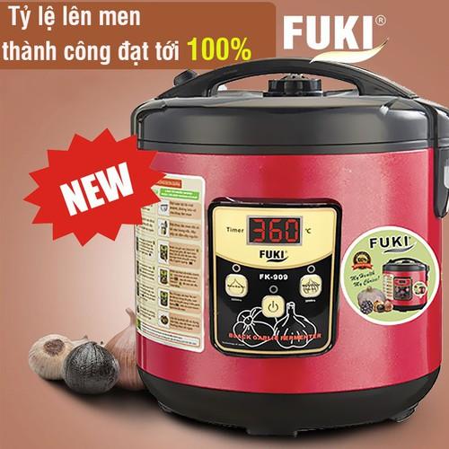 Máy làm tỏi đen Fuki New FK-909 dòng cao cấp loại 5L đỏ mận