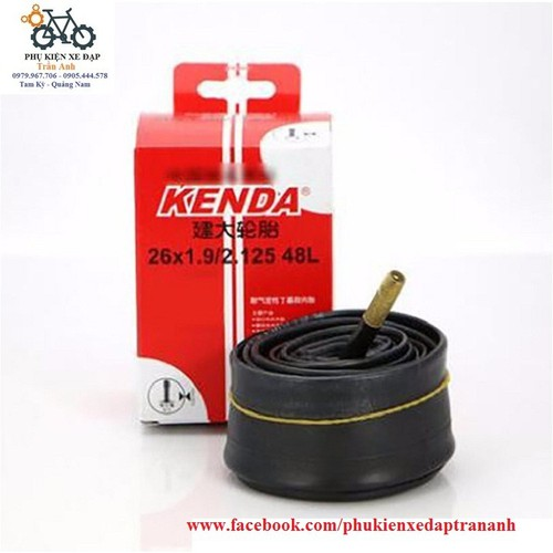 Ruột xe đạp KENDA 26x1.9-2.125 48mm Van Mỹ - Van Xe Máy