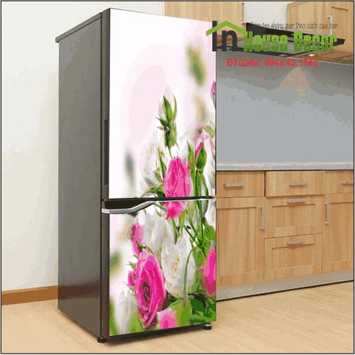 Giấy dán tủ lạnh | Decal trang trí tủ lạnh Vườn hồng - 6615439 , 13285174 , 15_13285174 , 300000 , Giay-dan-tu-lanh-Decal-trang-tri-tu-lanh-Vuon-hong-15_13285174 , sendo.vn , Giấy dán tủ lạnh | Decal trang trí tủ lạnh Vườn hồng