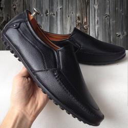 [SALE OFF] Giày mọi nam đen sần đế đinh kiểu mới được yêu thích