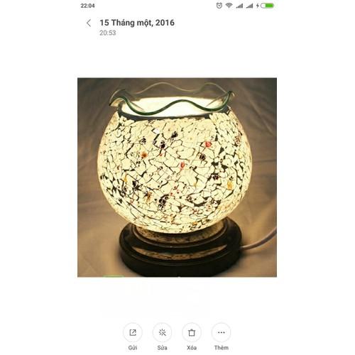 Đèn xông tinh dầu bằng điện màu muối tiêu