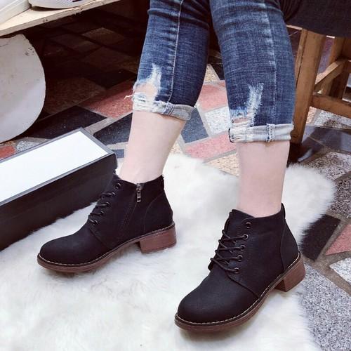 Giày boot nữ cổ thấp cao cấp - 6652324 , 13325880 , 15_13325880 , 300000 , Giay-boot-nu-co-thap-cao-cap-15_13325880 , sendo.vn , Giày boot nữ cổ thấp cao cấp