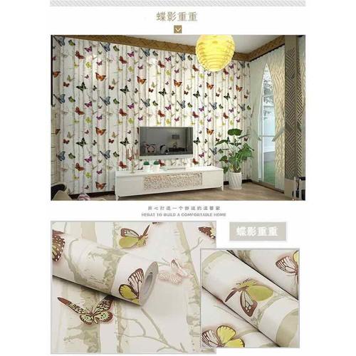 10m giấy dán tường bướm bay 3D có sẵn keo khổ rộng 45cm - 6638277 , 13309434 , 15_13309434 , 99000 , 10m-giay-dan-tuong-buom-bay-3D-co-san-keo-kho-rong-45cm-15_13309434 , sendo.vn , 10m giấy dán tường bướm bay 3D có sẵn keo khổ rộng 45cm