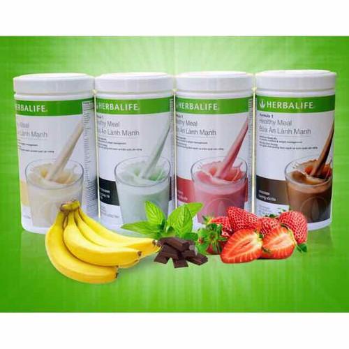 Bữa ăn lành mạnh Herbalife F1 - Hương dâu