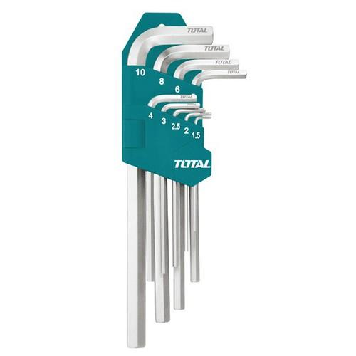 1.5-10mm Bộ lục giác đầu bi dài 9 chi tiết Total THT106292 - 6648475 , 13321324 , 15_13321324 , 95000 , 1.5-10mm-Bo-luc-giac-dau-bi-dai-9-chi-tiet-Total-THT106292-15_13321324 , sendo.vn , 1.5-10mm Bộ lục giác đầu bi dài 9 chi tiết Total THT106292