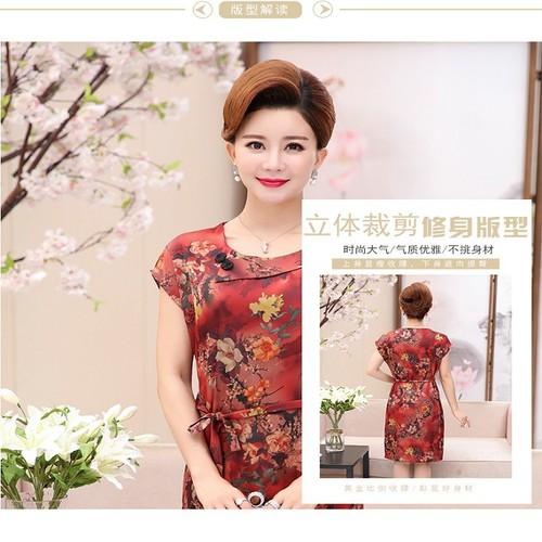 Váy xinh chất liệu lụa tăng nét quyến rủ dành cho phụ nữ