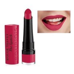 Son Bourjois Rouge Velvet The Lipstick 09 – Fuchsia Botte Màu hồng cánh sen