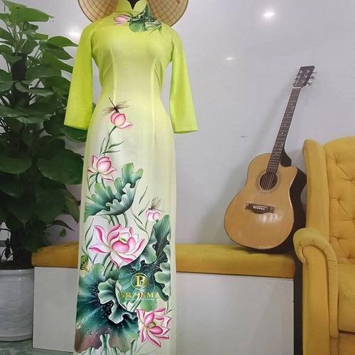 Vải áo dài vẽ Hoa Sen cực đẹp, uy tín & chất lượng nhất  - Vẽ Áo Dài Brahma - 4551414 , 13318062 , 15_13318062 , 1250000 , Vai-ao-dai-ve-Hoa-Sen-cuc-dep-uy-tin-chat-luong-nhat-Ve-Ao-Dai-Brahma-15_13318062 , sendo.vn , Vải áo dài vẽ Hoa Sen cực đẹp, uy tín & chất lượng nhất  - Vẽ Áo Dài Brahma