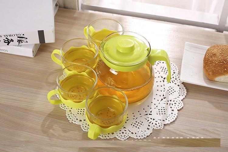 Bộ ấm pha trà thủy tinh hộp quà tặng sang trọng cho ngày Lễ Tết 4