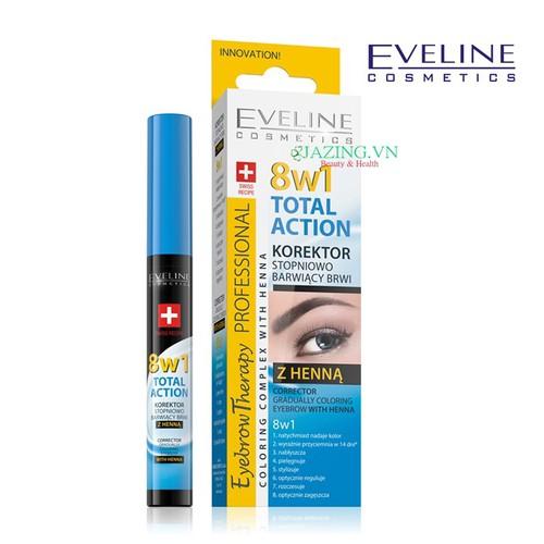 Serum dưỡng tạo lông mày dài tự nhiên Eveline 8in1 10ml - 4552677 , 13326962 , 15_13326962 , 119000 , Serum-duong-tao-long-may-dai-tu-nhien-Eveline-8in1-10ml-15_13326962 , sendo.vn , Serum dưỡng tạo lông mày dài tự nhiên Eveline 8in1 10ml