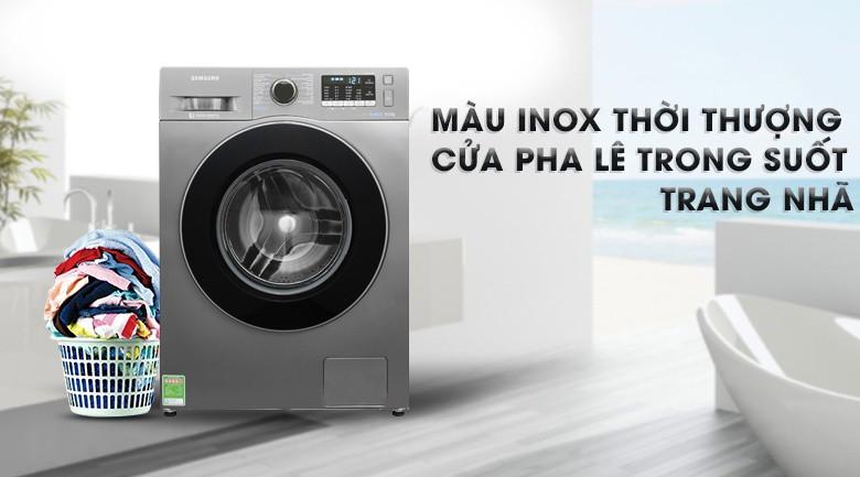Máy Giặt Cửa Trước Samsung Inverter WW80J54E0BX/SV (8kg)