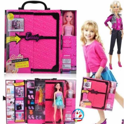 Tủ quần áo Búp bê Barbie - 6648952 , 13321747 , 15_13321747 , 325000 , Tu-quan-ao-Bup-be-Barbie-15_13321747 , sendo.vn , Tủ quần áo Búp bê Barbie