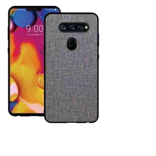 Ốp lưng LG V40 ThinQ cao cấp mặt lưng vải không thấm nước - 6637009 , 13308086 , 15_13308086 , 80000 , Op-lung-LG-V40-ThinQ-cao-cap-mat-lung-vai-khong-tham-nuoc-15_13308086 , sendo.vn , Ốp lưng LG V40 ThinQ cao cấp mặt lưng vải không thấm nước