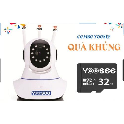 Camera yoosee tặng thẻ 32G