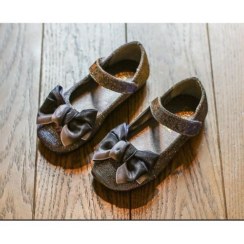 Giày búp bê nơ xám cho bé gái - 4555758 , 13351354 , 15_13351354 , 190000 , Giay-bup-be-no-xam-cho-be-gai-15_13351354 , sendo.vn , Giày búp bê nơ xám cho bé gái