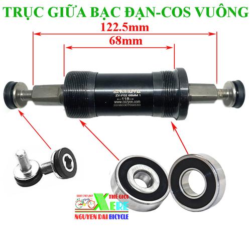Trục giữa cốt vuông xe đạp-Cốt giữa bạc đạn xe đạp - 4553037 , 13331890 , 15_13331890 , 132000 , Truc-giua-cot-vuong-xe-dap-Cot-giua-bac-dan-xe-dap-15_13331890 , sendo.vn , Trục giữa cốt vuông xe đạp-Cốt giữa bạc đạn xe đạp