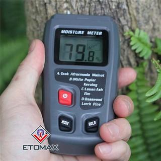 máy đo nhiệt độ độ ẩm gỗ - m35. thumbnail
