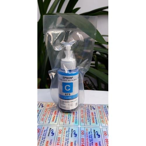 Mực màu xanh Epson L805-L800-L1800 - Epson T673200