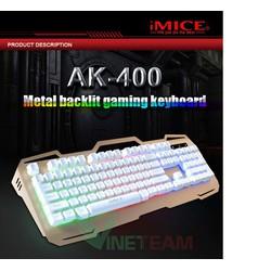 Bàn phím led 7 màu chuyên game IMICE AK-400 - DC3232