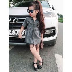 Set váy jean đáng yêu cho bé từ 9-25kg - 2 mẫu
