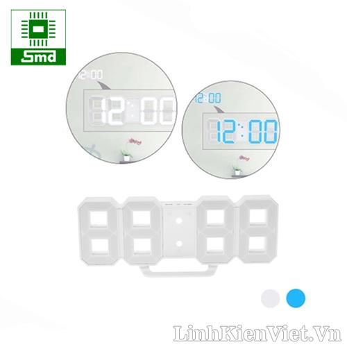 Đồng hồ led 3D treo tường - Led trắng-xanh dương - 6668438 , 13345012 , 15_13345012 , 320000 , Dong-ho-led-3D-treo-tuong-Led-trang-xanh-duong-15_13345012 , sendo.vn , Đồng hồ led 3D treo tường - Led trắng-xanh dương
