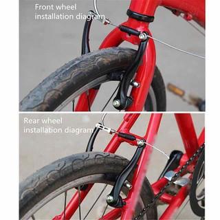 Cụm phanh trước và sau xe đạp địa hình [ĐƯỢC KIỂM HÀNG] 13348904 - 13348904 thumbnail
