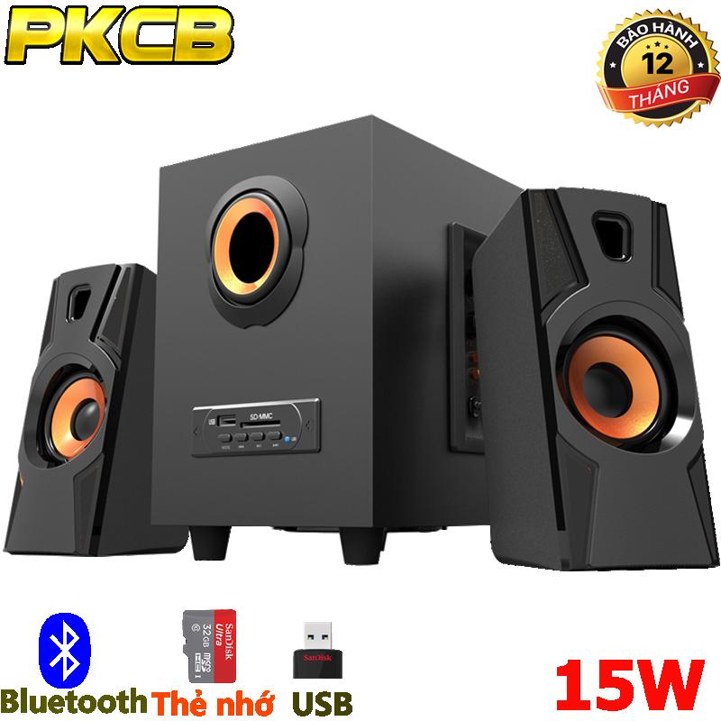 Loa Bluetooth vi tính điện thoại tivi máy tính laptop PKCB A900 3 trong 1 10