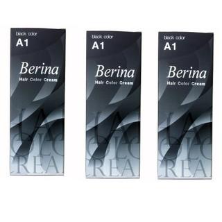 Combo 6 thuốc nhuộm Berina A1 Thái Lan, đen - 00053 thumbnail