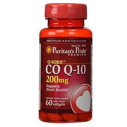 200mg Date 06-2023 Viên uống hỗ trợ tim mạch, huyết áp Co Q10 Puritan's Pride 200mg 60 viên