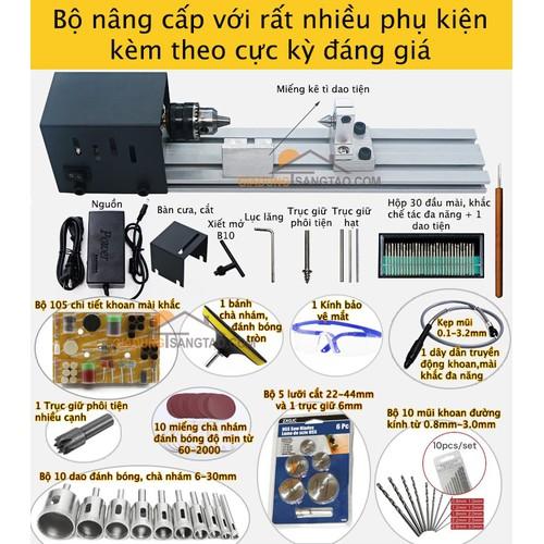 Máy tiện gỗ mini đa năng - Bộ nâng cấp - 6665815 , 13341853 , 15_13341853 , 990000 , May-tien-go-mini-da-nang-Bo-nang-cap-15_13341853 , sendo.vn , Máy tiện gỗ mini đa năng - Bộ nâng cấp