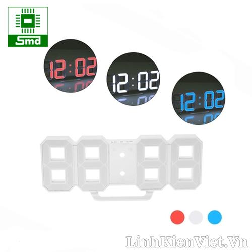Đồng hồ led 3D treo tường - Led đỏ - trắng - xanh dương - 6668906 , 13345535 , 15_13345535 , 340000 , Dong-ho-led-3D-treo-tuong-Led-do-trang-xanh-duong-15_13345535 , sendo.vn , Đồng hồ led 3D treo tường - Led đỏ - trắng - xanh dương