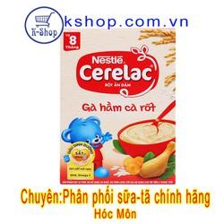 Bột ăn dặm Nestlé Cerelac gà hầm cà rốt 200g 7 - 24 tháng