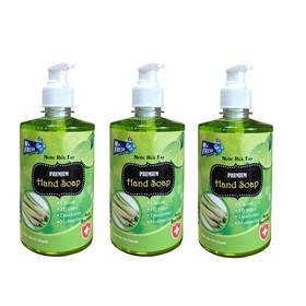 Bộ 3 bình nước rửa tay tiệt trùng Mr Fresh Korea 500ml Hương Xả Chanh - BH457