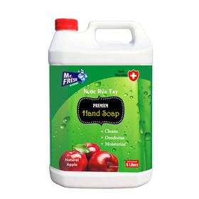 Nước rửa tay tiệt trùng Premium Hand Soap Mr Fresh Hàn Quốc 5L Hương Táo Mỹ - BH458