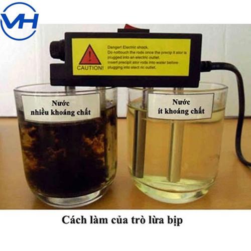 Máy điện phân nước - máy thử nước