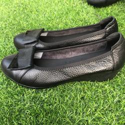 giày nữ đế suồng 3cm BH 1 năm -giày nữ - giày da nữ