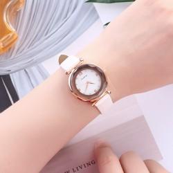 Đồng hồ nữ Hàn Quốc DICAIHONG mặt vát 3D cao cấp AH-DH468