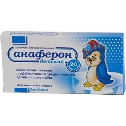 Thuốc tăng sức đề kháng Anaferon của Nga