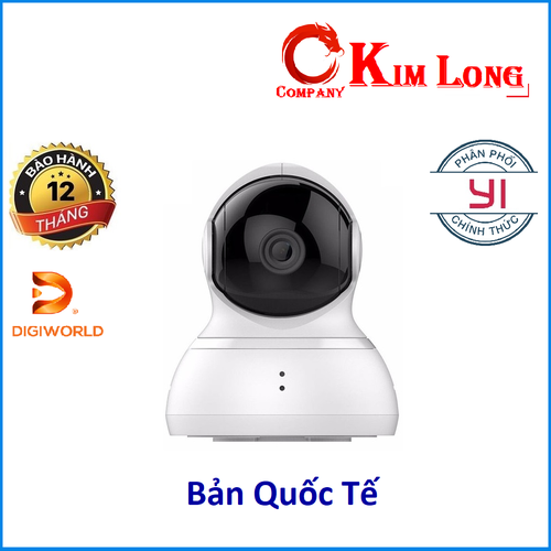 Camera Ip Yi Dome 720P tự xoay 360 độ - Digiworld phân phối