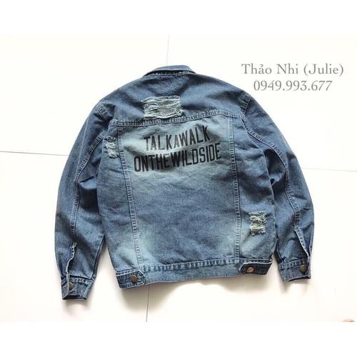 áo khoác jeans nam VNXK