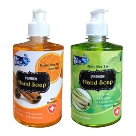 Bộ 2 bình nước rửa tay tiệt trùng Mr Fresh Korea 500ml - BH456-4
