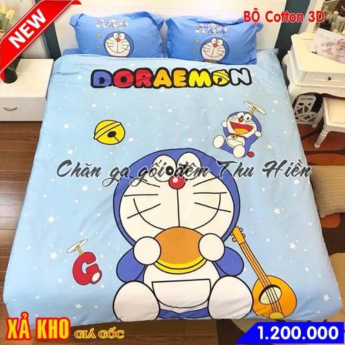 Bộ chăn ga gối cotton 3D cho bé hình Đôrêmon mẫu 4 - 6678445 , 13357755 , 15_13357755 , 1200000 , Bo-chan-ga-goi-cotton-3D-cho-be-hinh-Doremon-mau-4-15_13357755 , sendo.vn , Bộ chăn ga gối cotton 3D cho bé hình Đôrêmon mẫu 4