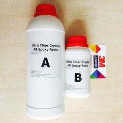 Keo đổ nhựa làm khuôn, tranh 3D trong suốt loại tốt đổ khối Epoxy Resin Ultra Clear DTAB2-A5 1kg